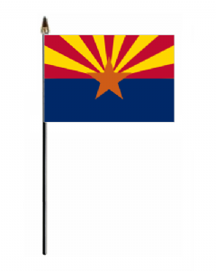 Arizona Hand Flag - Small.